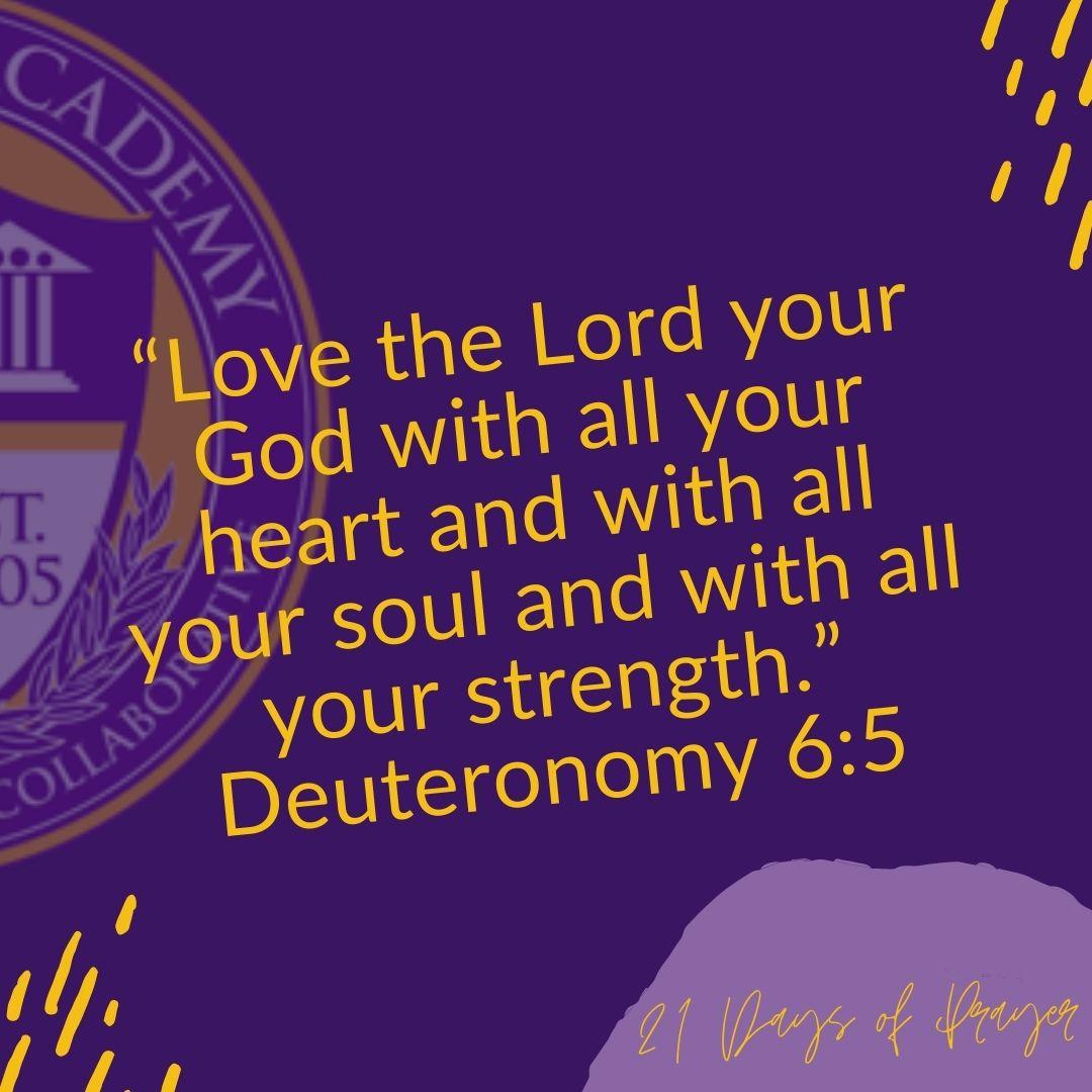 GDA 21 Days of Prayer