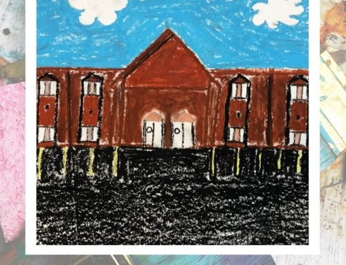 Upper Grades Art Project: Campus Perspectives