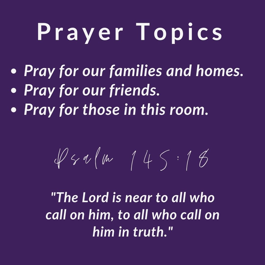 Gloria Deo Academy See You at the Pole Prayer Topics Part 2