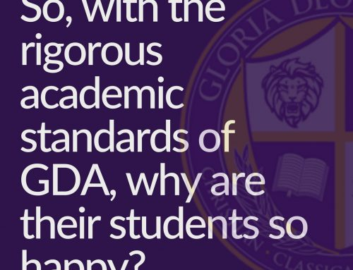 Why are GDA students so happy?