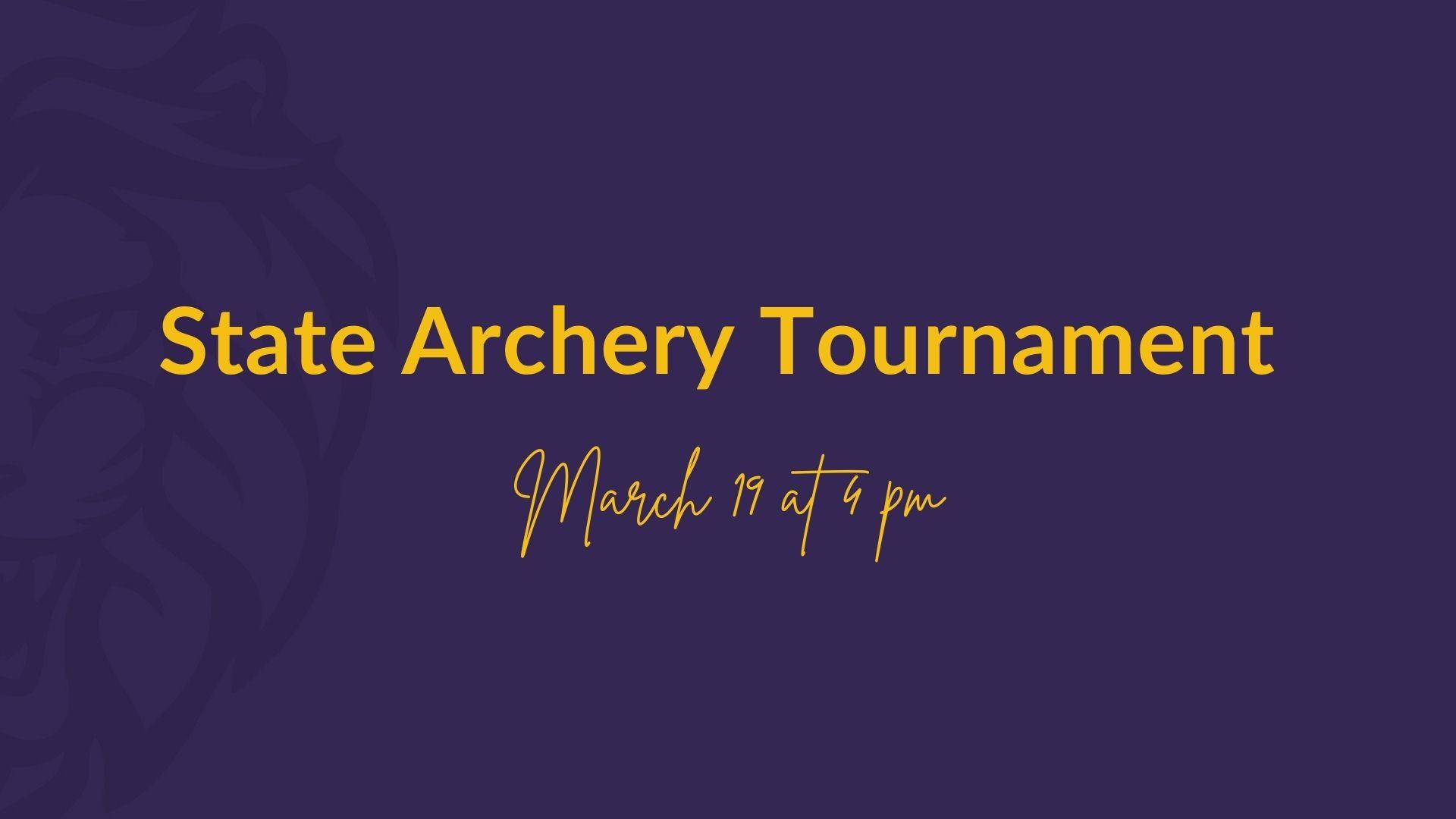 Gloria Deo Academy State Archery Tournament