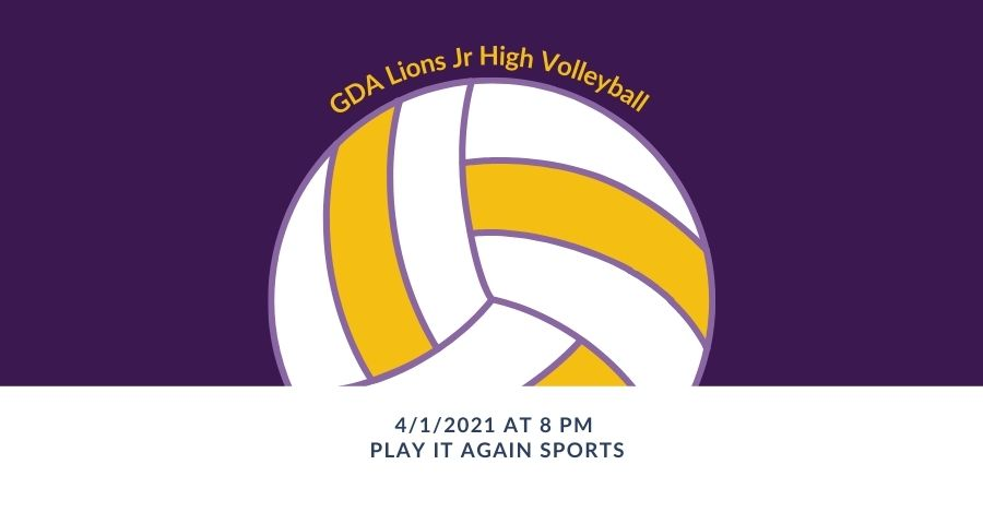 Gloria Deo Jr High Volleyball