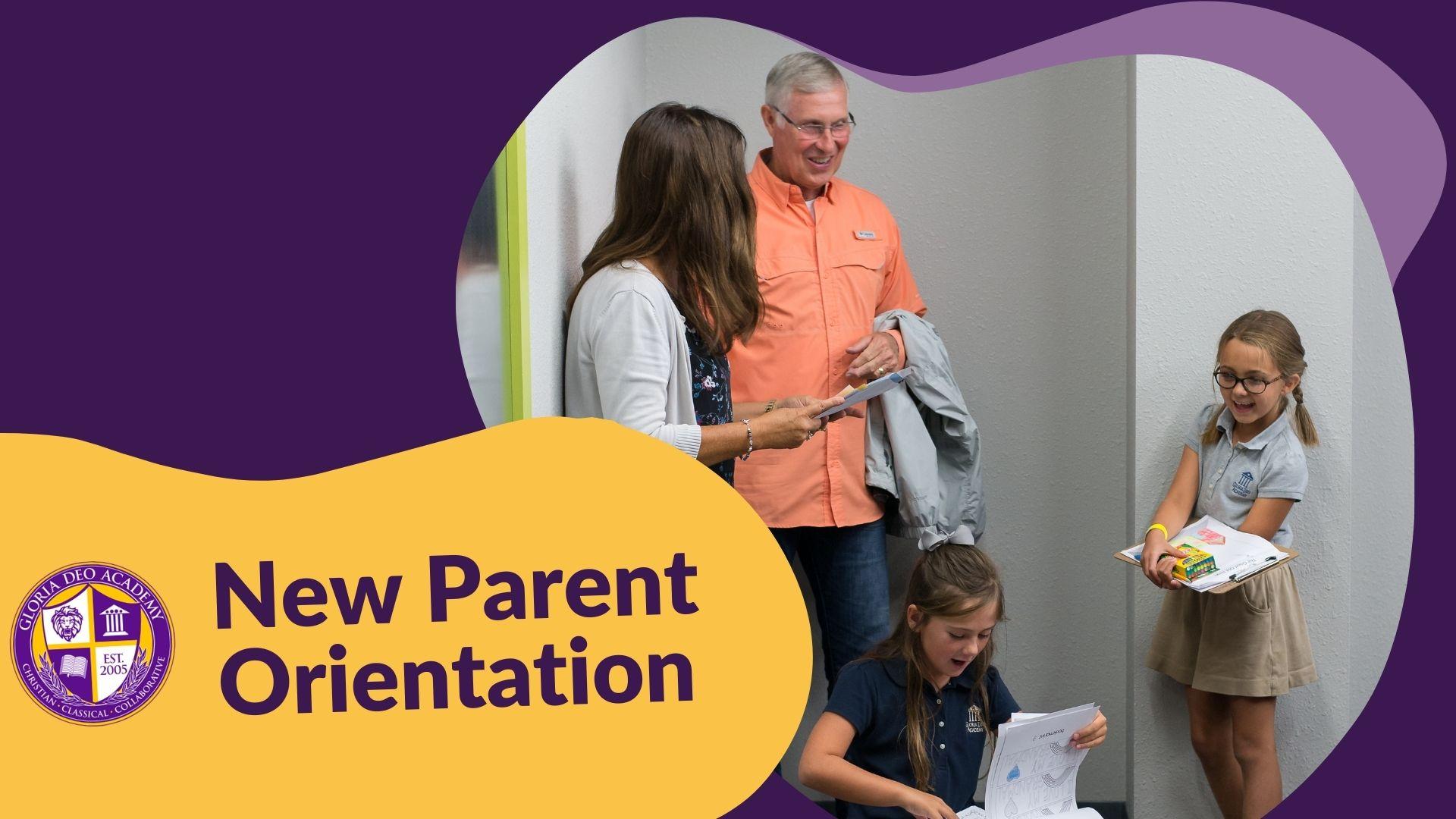GDA New Parent Orientation 2021