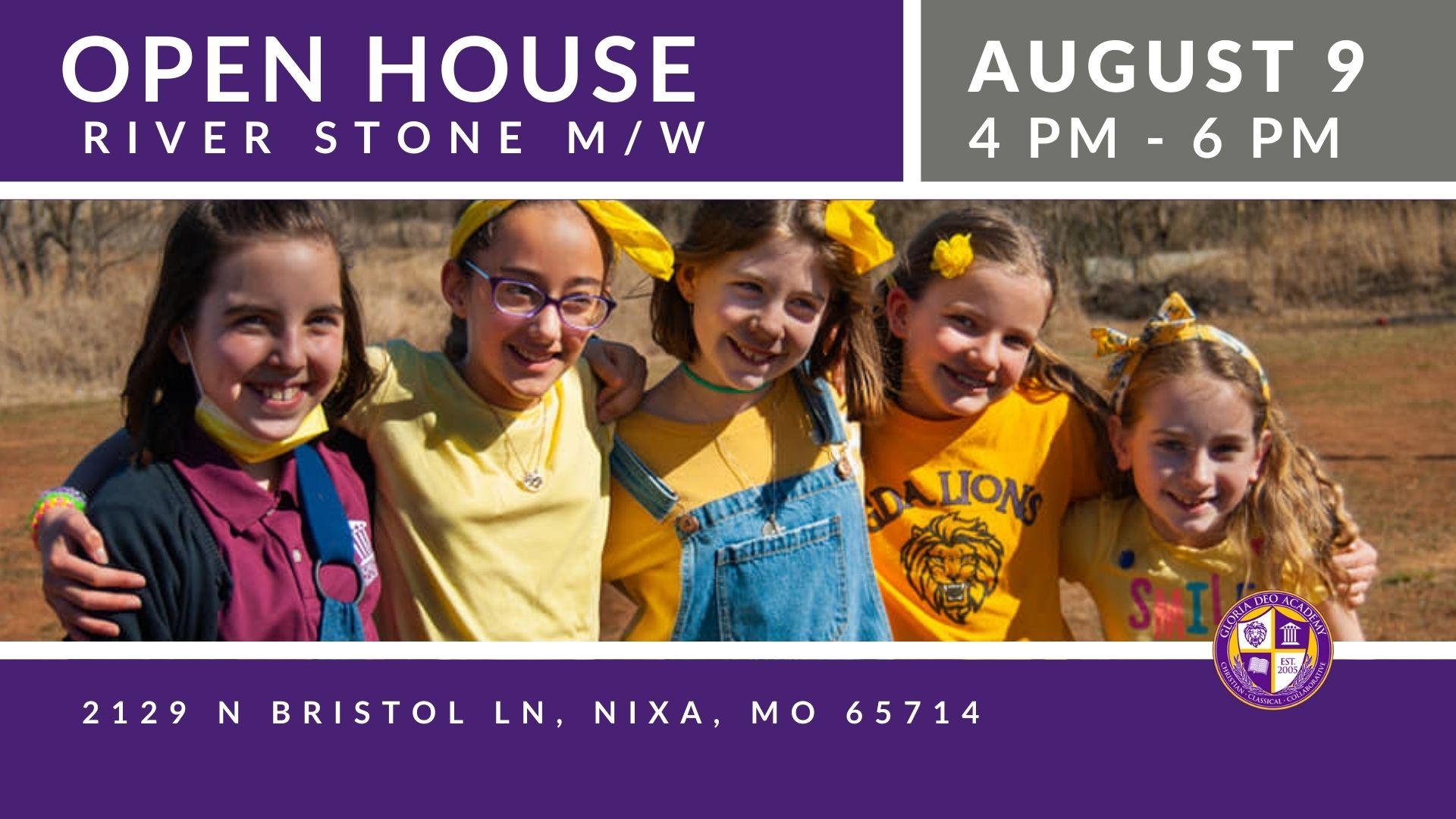 2021 River Stone Gloria deo Academy Open House